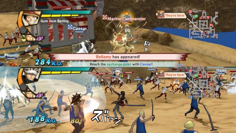 One Piece: Pirate Warriors 3 - Splitscreen (Foto: Bandai Namco)