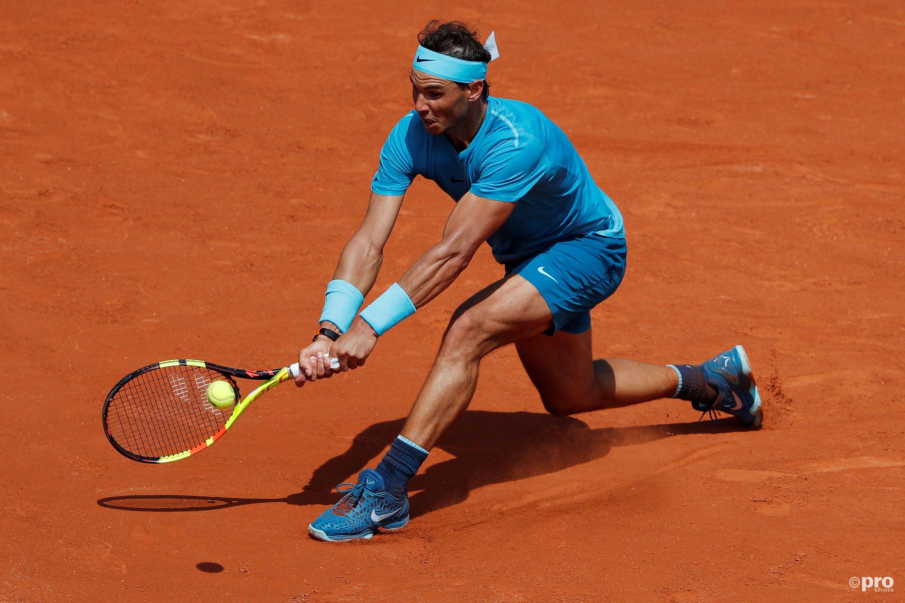 Nadal gaat weer soepel op zijn geliefde gravel (Pro Shots/Action Images)