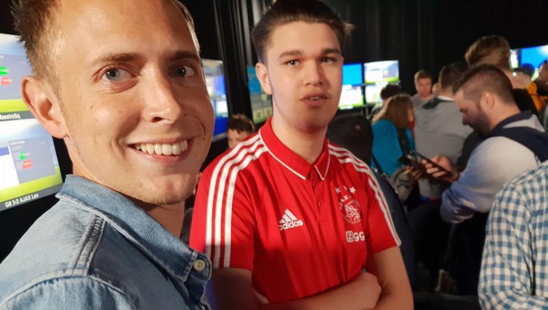 Bart van Essen (Ajax) en Lev Vinken