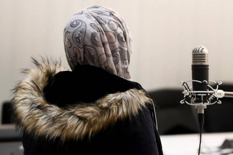Jihadiste met baby en vader in Koerdische cel