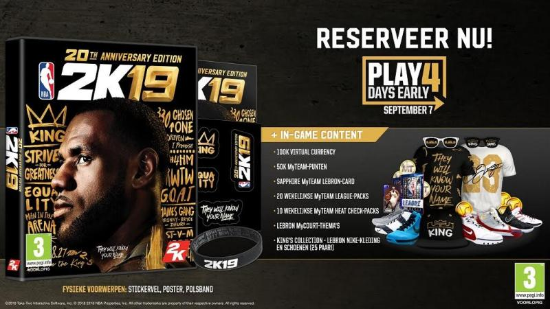NBA 2K19 - 20 Anniversary Edition (Foto: 2K Games)