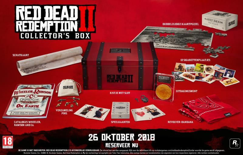 Red Dead Redemption 2 - Collector's Box (Foto: Rockstar Games)