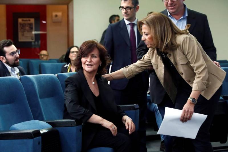 Vrouwen in de meerderheid in kabinet Spanje