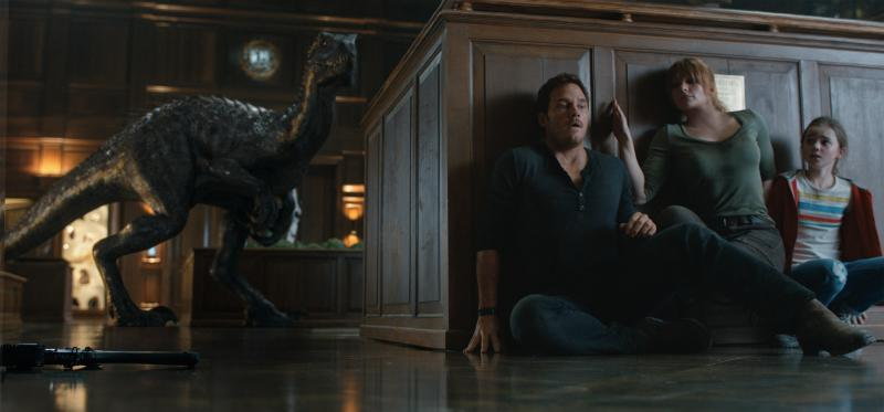 Jurassic World: Fallen Kingdom: Chris Pratt, Bryce Dallas Howard en Isabella Sermon