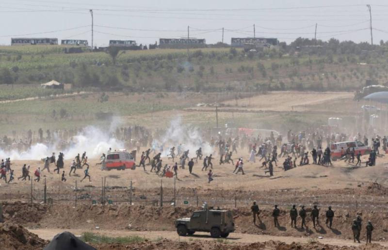 Doden en gewonden bij protesten Gaza