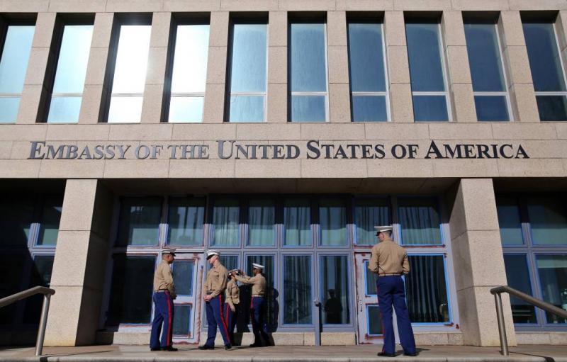 Medewerkers ambassade VS in Havana ziek