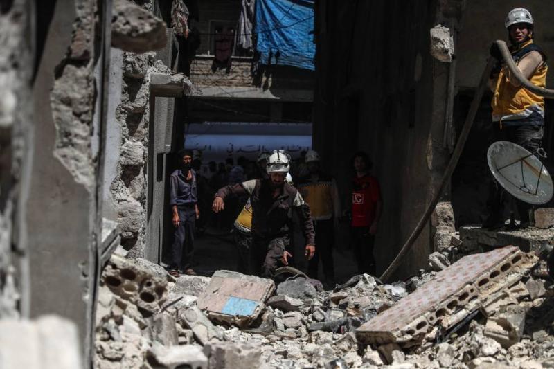 Tientallen doden bij luchtaanvallen in Syrië
