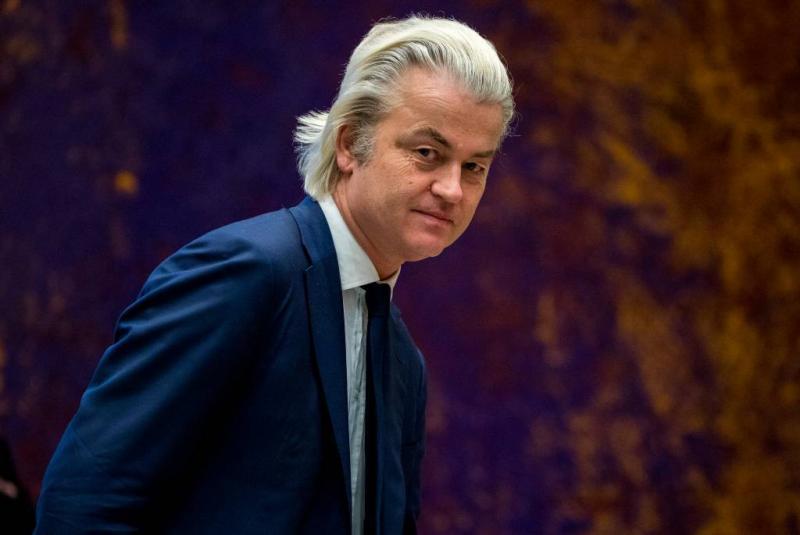 Wilders in Londen voor demonstratie
