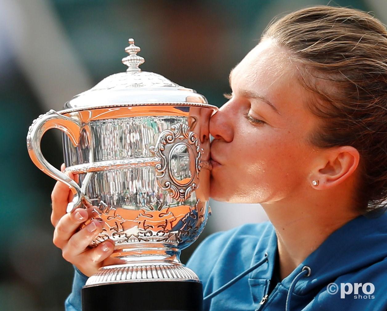 Halep wint Roland Garrosv(Pro Shots / Action Images)