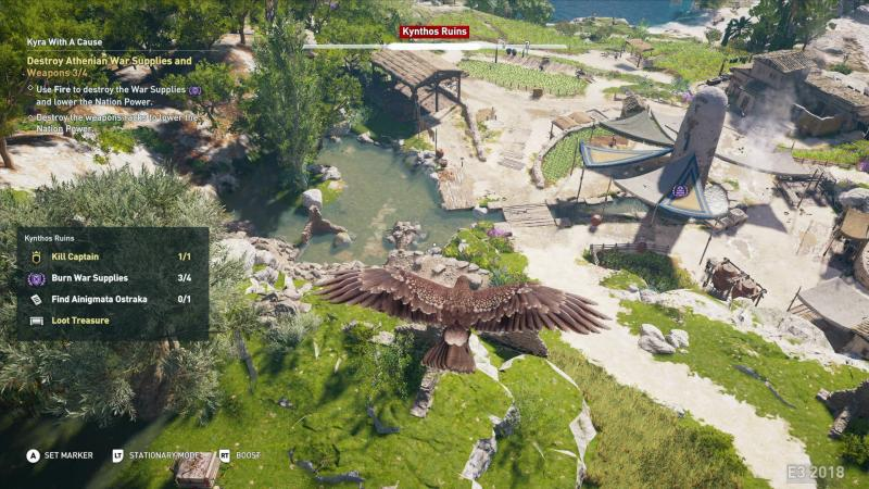 Assassin's Creed Odyssey Birdview