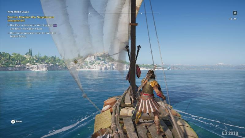 Assassin's Creed Odyssey Sailing