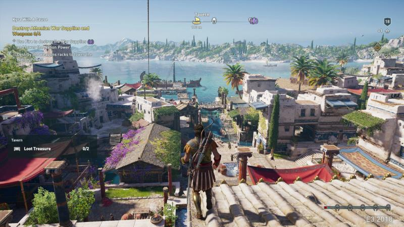 Assassin's Creed Odyssey havenstand