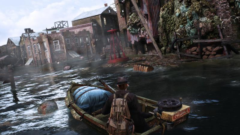 The Sinking City - Detective on boat (Foto: Frogwares)