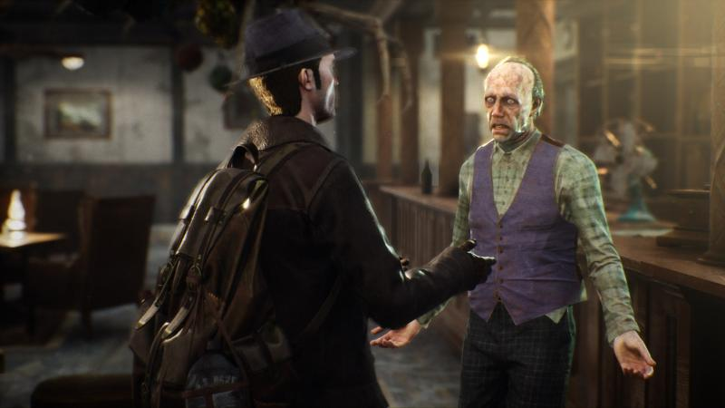 The Sinking City - Interrogation (Foto: Frogwares)