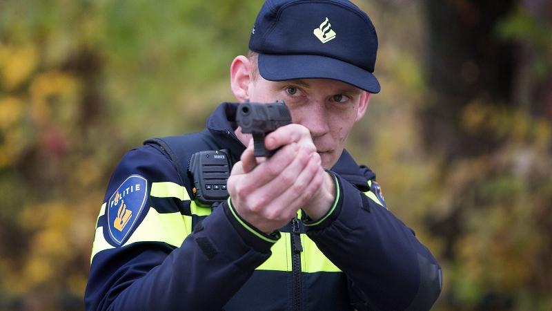 Schietbaan Den Bosch nog buiten gebruik (Foto: stockfoto politie.nl)