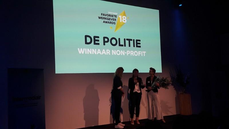 Politie favoriete non-profit werkgever onder hoogopgeleiden (Foto: Politie.nl)