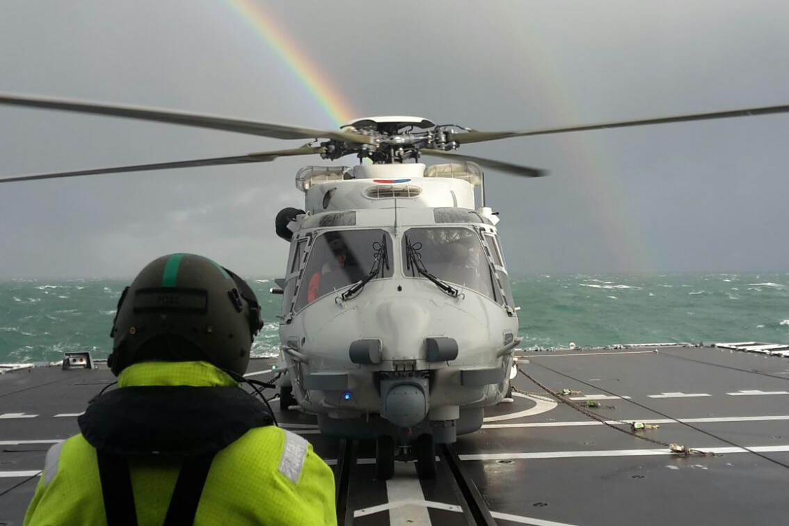 Archieffoto van een NH90 (foto: Ministerie van Defensie)