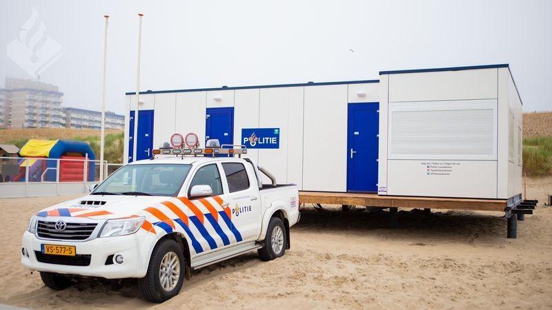 Politiestrandposten weer in gebruik genomen (Foto: Politie.nl)