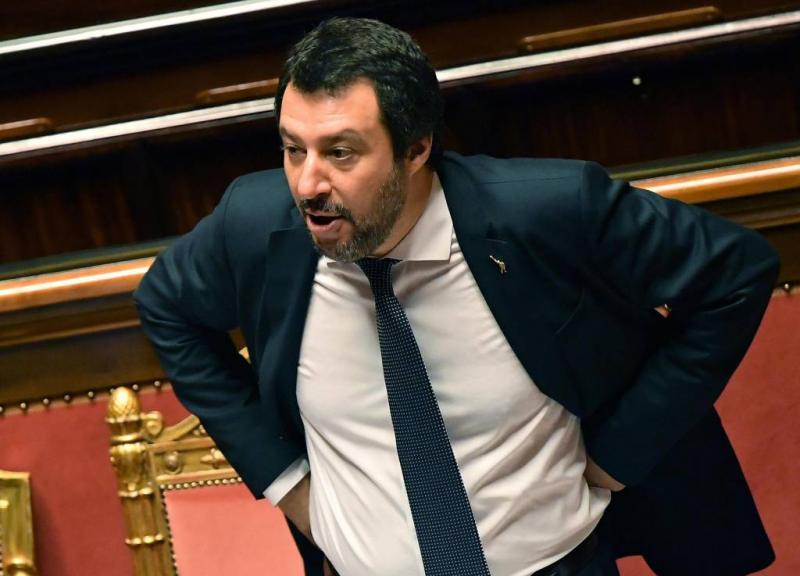 Salvini wil Roma laten tellen