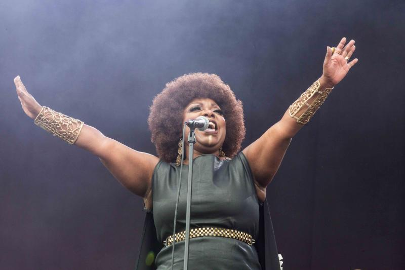 Michelle David & The Gospel Sessions op PINKPOP 2018 (Foto: René Bradwolff)