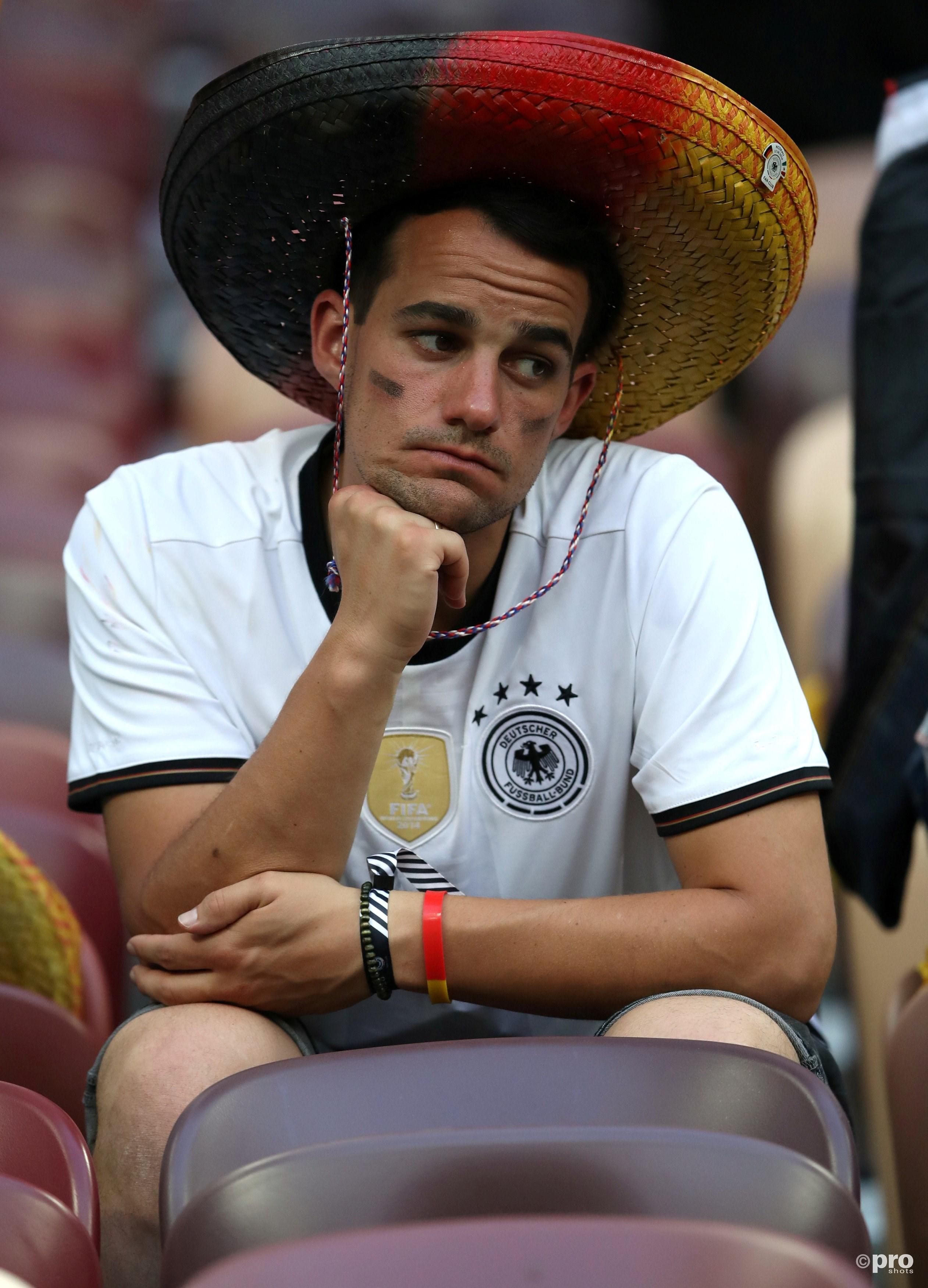 De Duitse fans zijn teleurgesteld. (PRO SHOTS/Action Images)