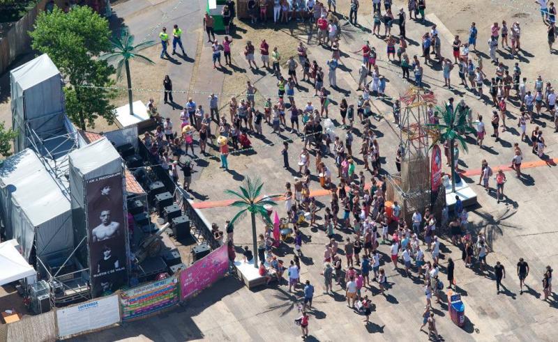 Bezoekers van festival Milkshake mogen naakt