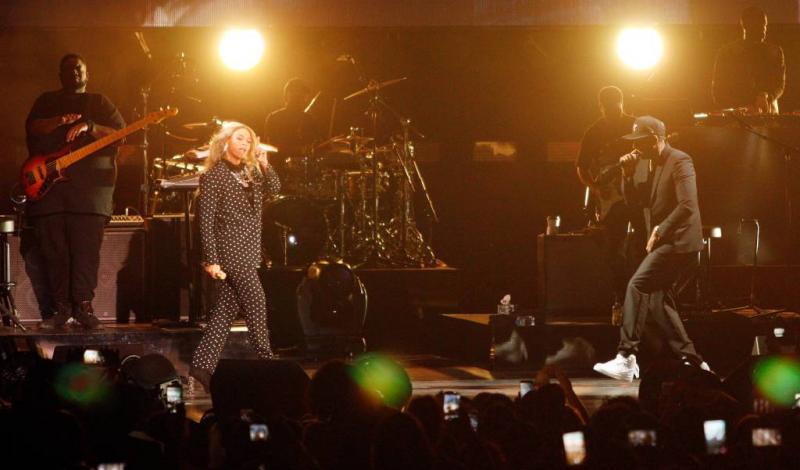 Fans al in de rij voor Beyoncé en Jay-Z