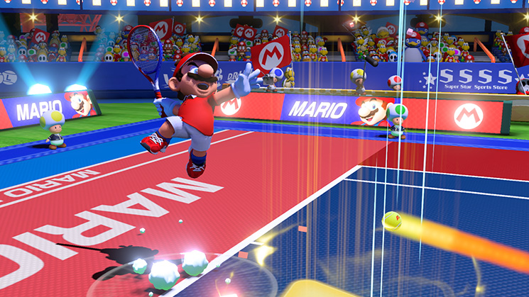 Mario Tennis Aces Shot