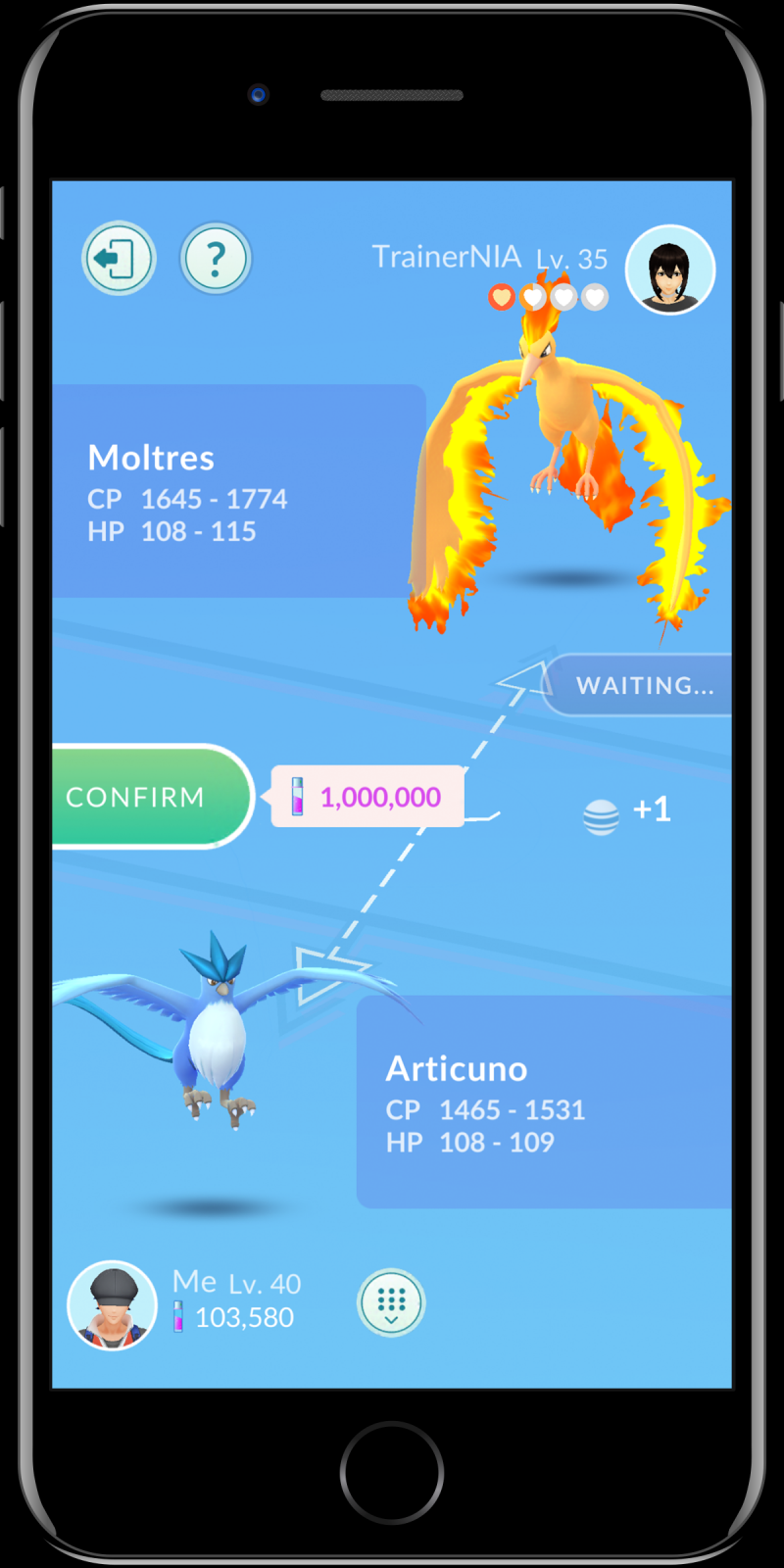 Pokémon GO Ruilen