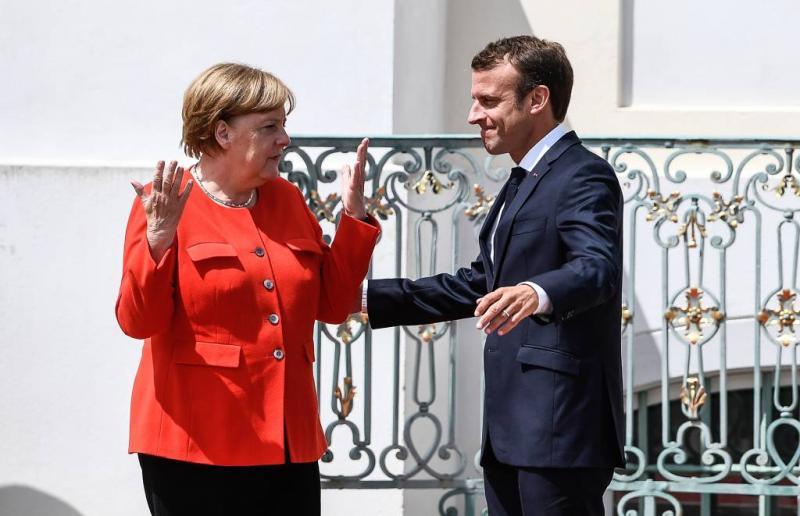 Macron en Merkel bijeen over EU-hervorming