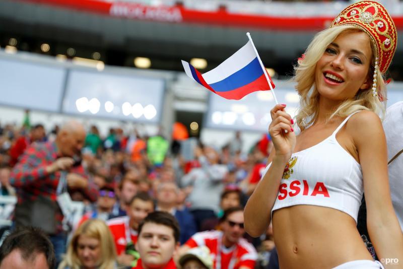 Russische WK-fan blijkt pornoster (Pro Shots/Action Images)