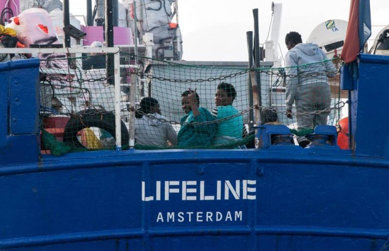 'Nederland moet garant staan voor Lifeline'