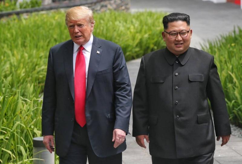 Trump vindt Noord-Korea toch nog bedreiging