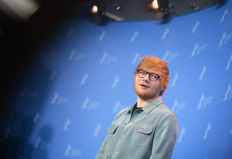 Honderd bomen zitten Ed Sheeran dwars