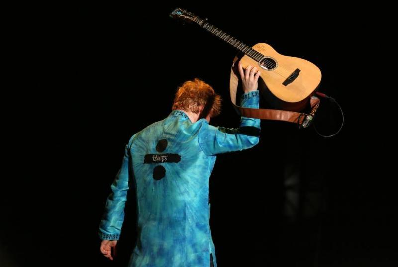 Ed Sheeran twee keer naar toilet tijdens show