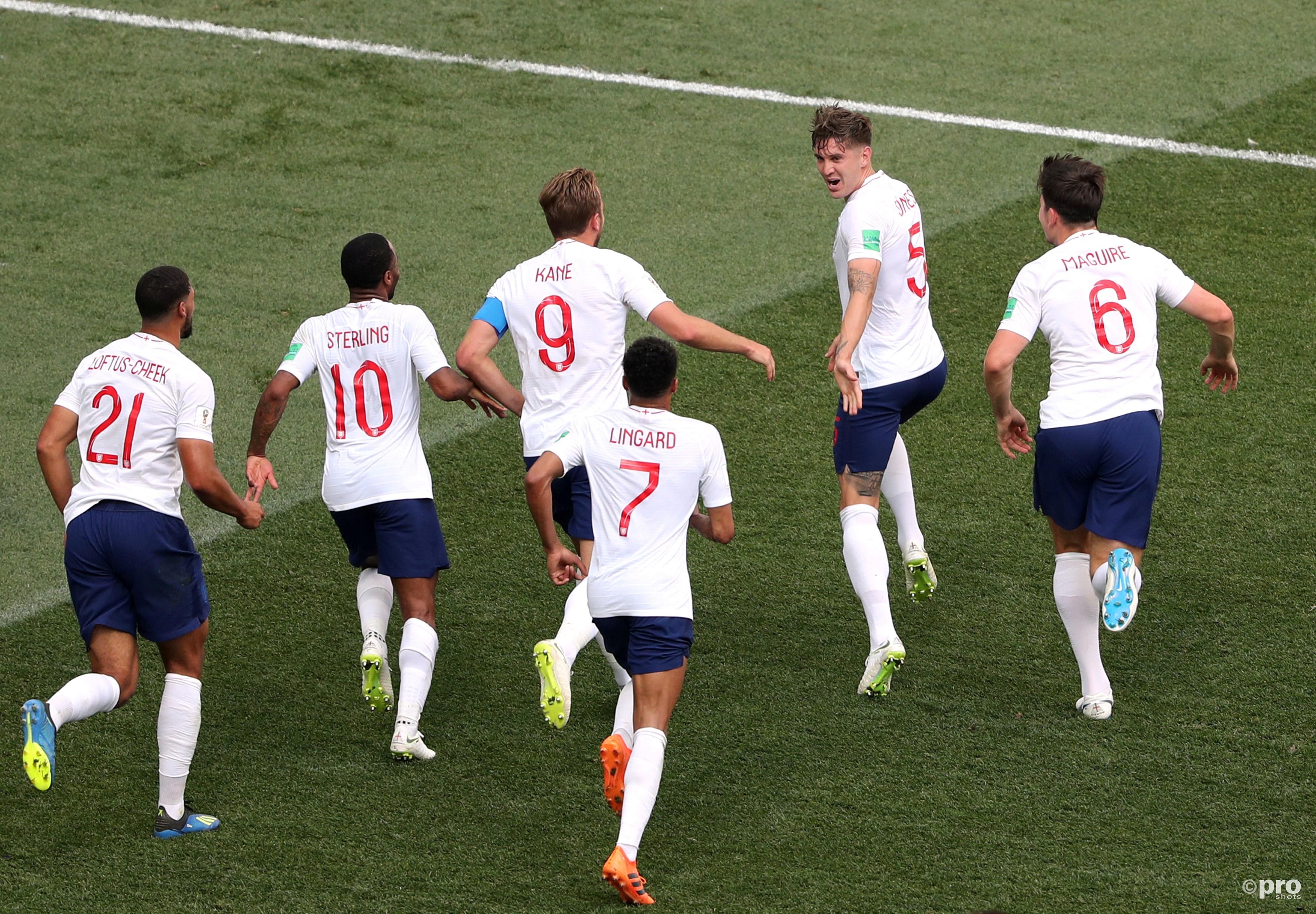 Engeland met 6-1 langs Panama. (PRO SHOTS/Action Images)