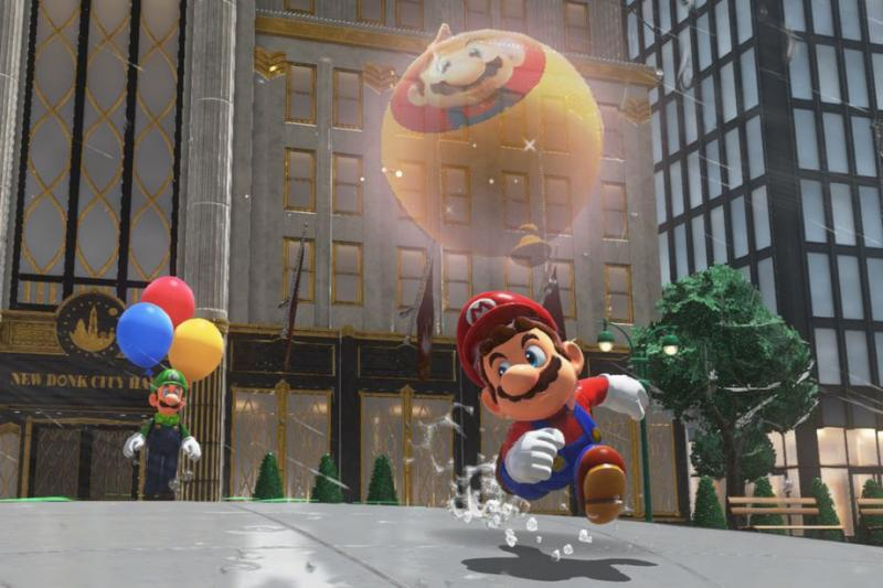 Luigi balloon world