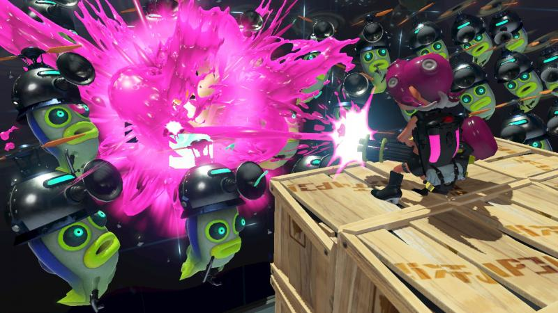 Splatoon 2 Octo Expansion Gameplay