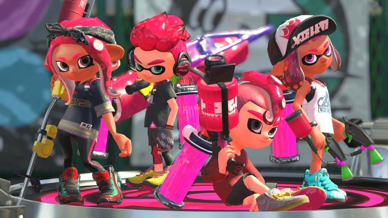 Splatoon 2 Octo Expansion Octolings