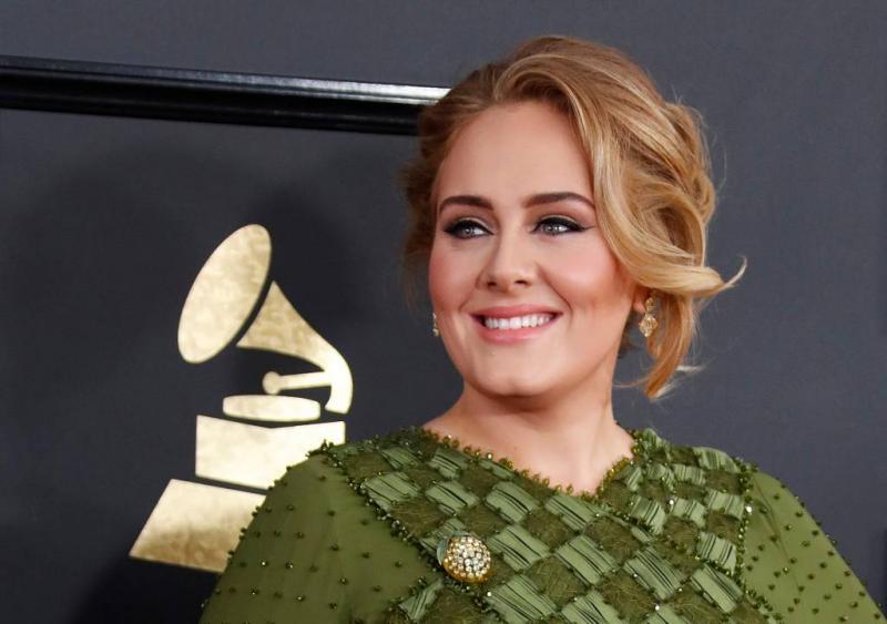 Adele werkt aan nieuw album in Engeland