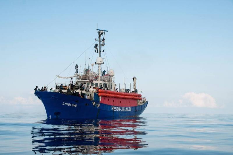 'Nederland neemt migranten Lifeline op'