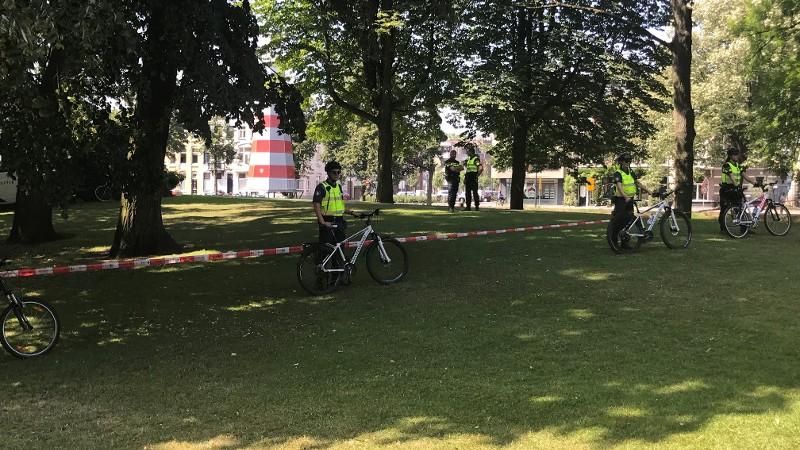 15 arrestaties bij veegactie in park Breda (Foto: Politie.nl)