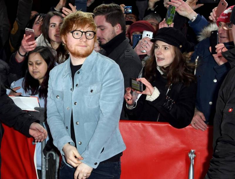 Ed Sheeran aangeklaagd voor 100 miljoen