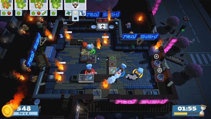 Overcooked 2 - Fire (Foto: Team17)
