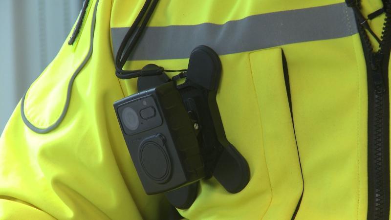 NS neemt bodycams in gebruik (Foto: Nederlandse Spoorwegen)
