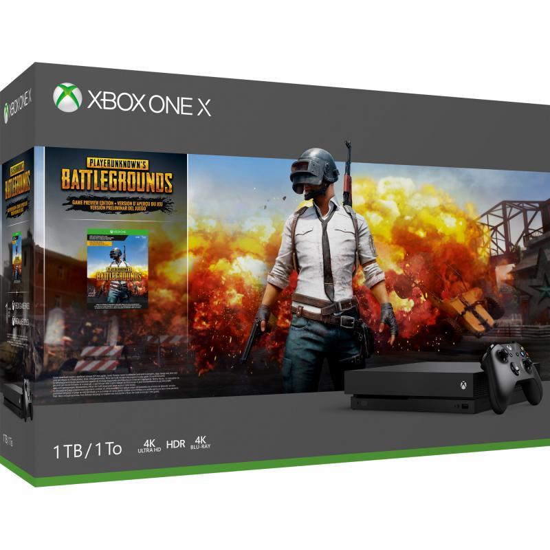 Xbox One X Pubg bundel