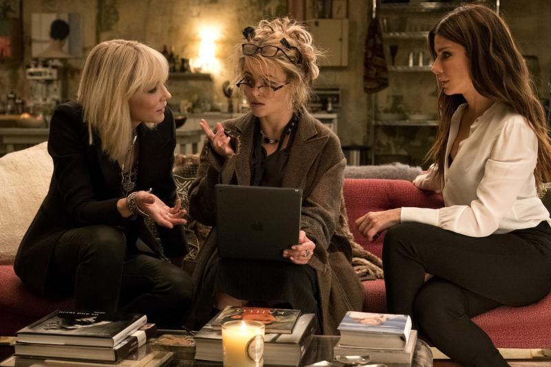 Ocean's 8: Cate Blanchett, Helena Bonham-Carter en Sandra Bullock