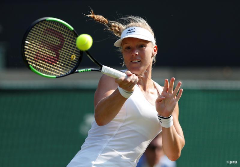 Bertens na knappe zege op V Williams naar achtste finales Wimbledon (Pro Shots / Action Images)