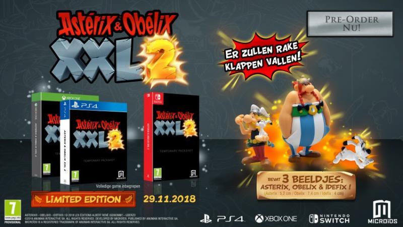 Asterix & Obelix XXL2 - Limited Edition (Foto: Mindscape)