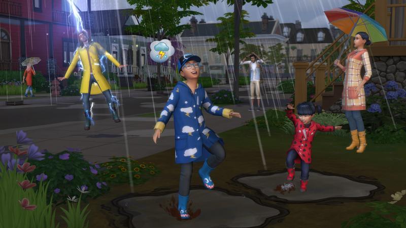 De Sims 4 Jaargetijden - Weer (Foto: Electronic Arts)